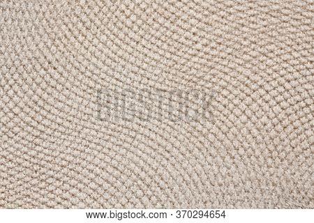 Usual Light Textile Background With Elegance. Superlative Dark Leatherette Texture.