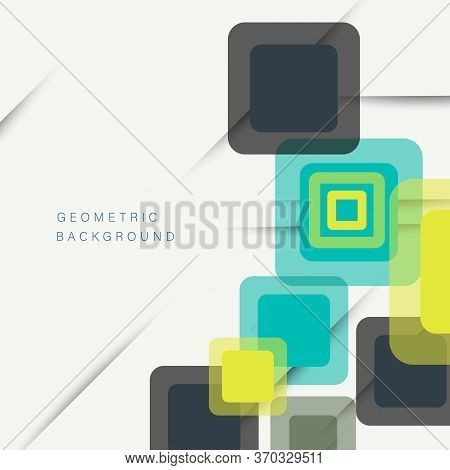 Abstract Background. Abstract geometric background. Abstract Background.Modern overlapping rhombuses.Abstract Background. Unusual color shapes for your message. Business or tech presentation, app cover vector template. Abstract Background.