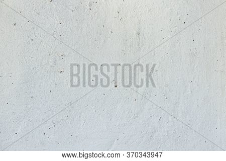 White Texture Background, Plastered Wall. Retro Texture Of Grungy Plaster Wall. Cement Wall Have Cop