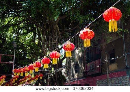 Ngoc Hoang Pagoda In Saigon