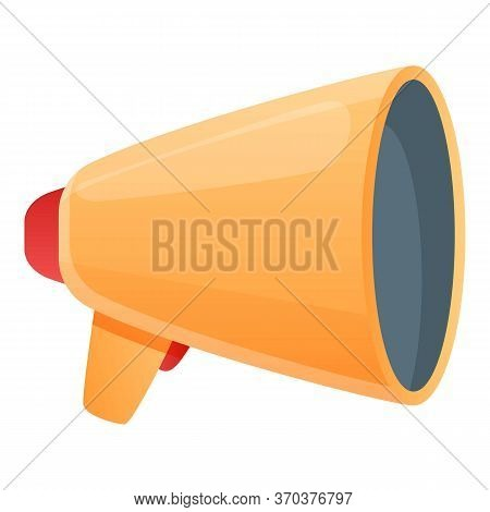 Stage Director Megaphone Icon. Cartoon Of Stage Director Megaphone Vector Icon For Web Design Isolat