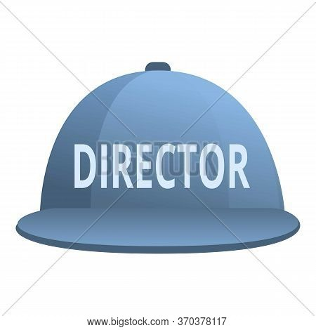 Stage Director Cap Icon. Cartoon Of Stage Director Cap Vector Icon For Web Design Isolated On White
