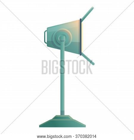 Concert Spot Light Icon. Cartoon Of Concert Spot Light Vector Icon For Web Design Isolated On White