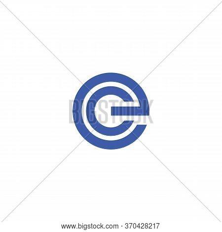 Ec And Ce Logo Vector And Templates Symbol Design Creative