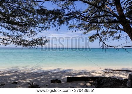 Beautiful Landscape View Of Mantanani Island, Kota Belud, Sabah, Borneo For Background Use