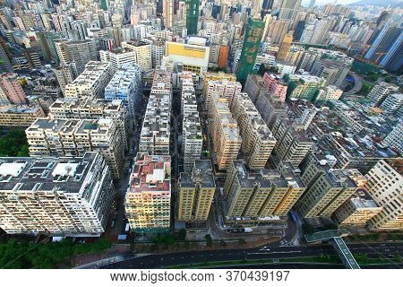 24 Aug 2008 The Tai Kok Tsui Area At Hong Kong