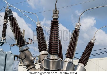 High Voltage Electrical Insulation In A Power Substation
