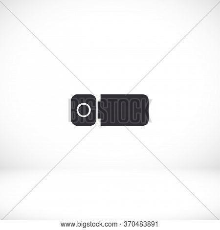 Digital Camcorder Icon. Vector Eps 10. Camcorder. Camera For Shooting Videos Flat Design. Stylish Fl