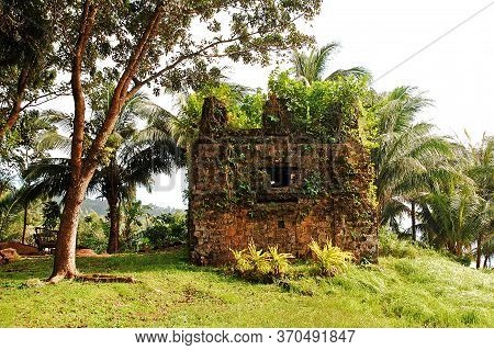 Camiguin, Ph - February 3 - Old Spanish Church Ruins On February 3, 2013 In Camiguin, Philippines.