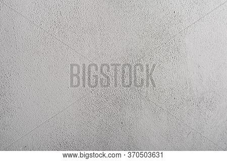 Granular Concrete Surface, Light Gray. A Place To Write.