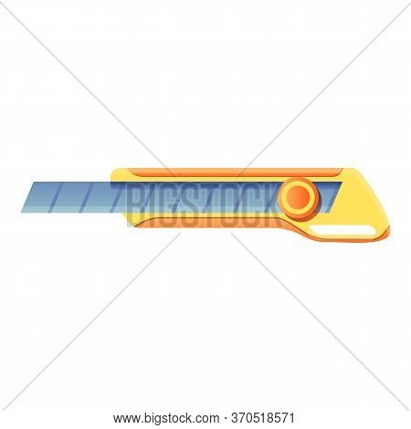 Metal Cutter Icon. Cartoon Of Metal Cutter Vector Icon For Web Design Isolated On White Background