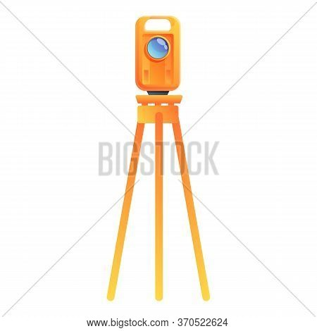 Cartographer Equipment Icon. Cartoon Of Cartographer Equipment Vector Icon For Web Design Isolated O
