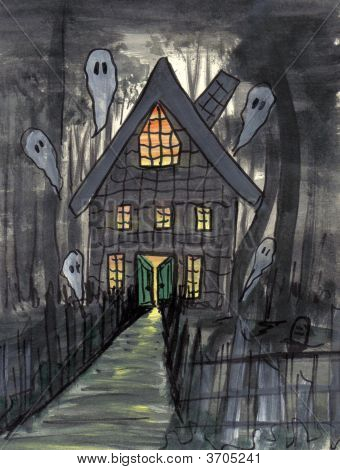 Painting Frightful Night