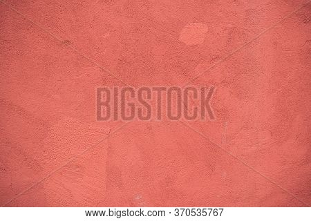 Background Image Of Painted Concrete Wall. Wallpaper. Text Space. Texture For Interior And Exterior.