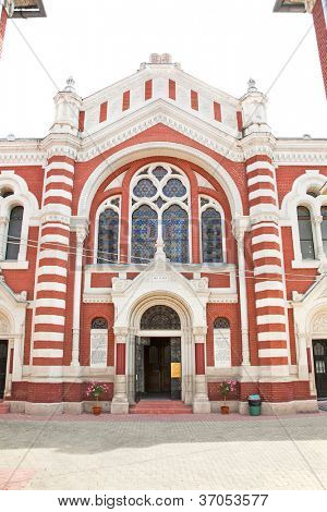 The Synagogue  in Brasov, Transylvania, Romania
