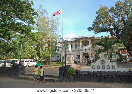 Palawan, Ph - March 7 - Coron Town Hall On March 7, 2012 In Coron, Palawan, Philippines.