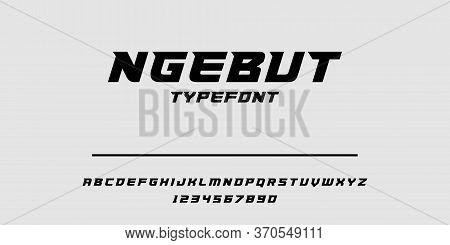Sport Modern Italic Alphabet Gold Font. Typography Urban Style Fonts For Technology, Digital, Movie