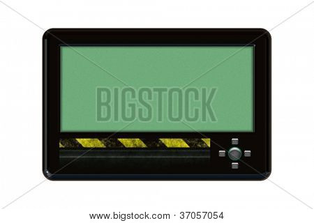An isolated Pager on white background