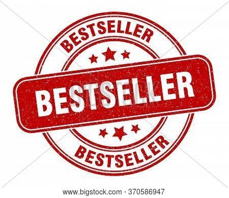 Bestseller Stamp. Bestseller Label. Round Grunge Sign