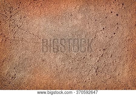 Drought-dried Earth To Cracks. Background Or Texture.