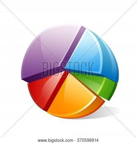 Vector Сhart, Diagram, Graph 3d Three-dimensional Image
