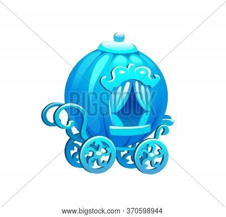 Vector Illustration Of Ice Crystal Fabulous Carriage