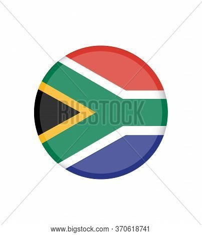 National South Africa Flag, Official Colors And Proportion Correctly. National South Africa Flag. Ve