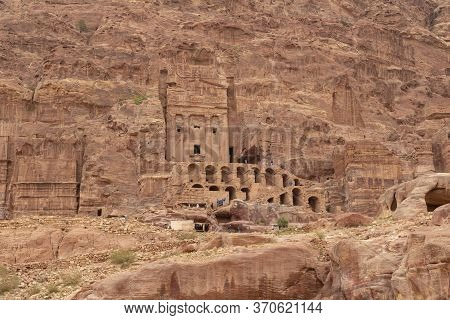 Petra, Jordan - 2019-04-21 - The Monestary Is Where Kings Were Buries And Waits Those Willing To Wal