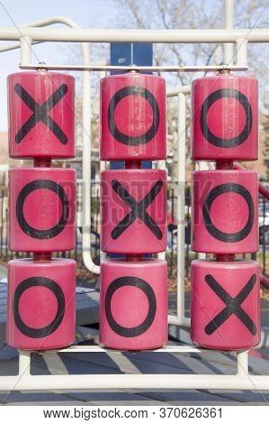 Xo Game, Noughts And Crosses, Xo Cross Winner Line.