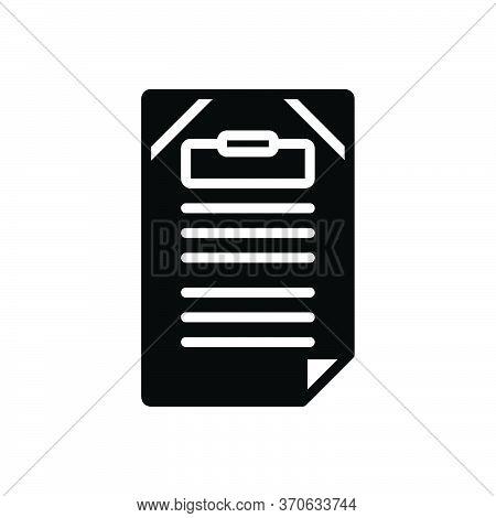 Black Solid Icon For Title Headline Heading Caption Letterhead Sobriquet