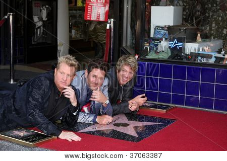 LOS ANGELES - SEP 17:  Rascal Flatts  at the Hollywood Walk of Fame Star Ceremony for Rascal Flatts at Hollywood Boulevard on September 17, 2012 in Los Angeles, CA