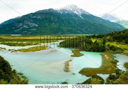 The Ibanez River In Patagonia - Chile