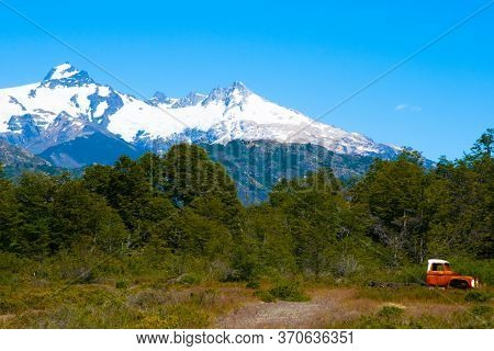 The Andes Mountains In Patagonia - Chile