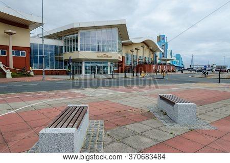 New Brighton, Uk: Jun 3, 2020: A Street View Shows Impact Of Corona Virus Pandemic On Businesses Req