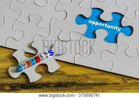 Conceptual Business Opportunity.  Text