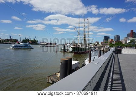 Hamburg, Germany - 05/30/2020: Picture Of The \