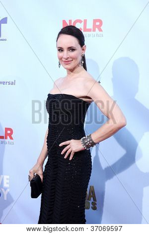 LOS ANGELES - SEP 16:  Madeleine Stowe arrives at the 2012 ALMA Awards at Pasadena Civic Auditorium on September 16, 2012 in Pasadena, CA