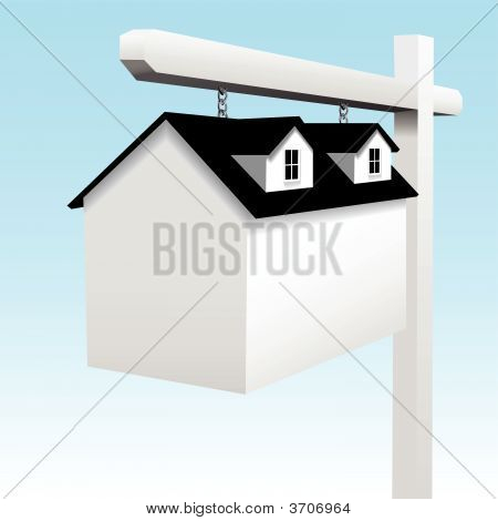 House As Home Real Estate Yard Sign