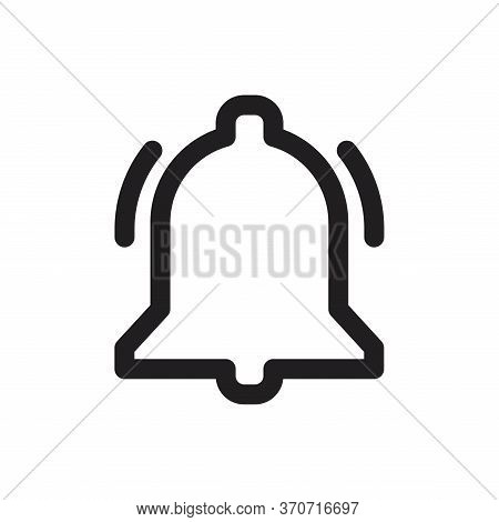 Icon Bell Line, Icon Bell For Web