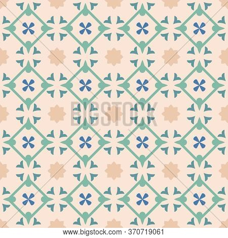 Tile Green Decorative Floor Tiles Vector Pattern Or Seamless Background