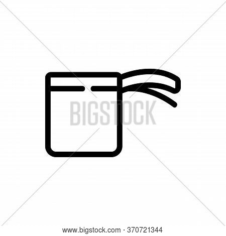Cup Kitchen Ware Icon Vector. Cup Kitchen Ware Sign. Isolated Contour Symbol Illustration
