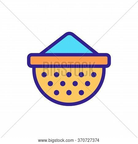 Cup Kitchen Utensil Icon Vector. Cup Kitchen Utensil Sign. Isolated Color Symbol Illustration