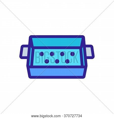 Cup Kitchen Ware Icon Vector. Cup Kitchen Ware Sign. Isolated Color Symbol Illustration