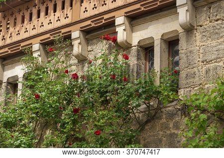 Exterior Of Marienburg Castle Near Hanover, Germany