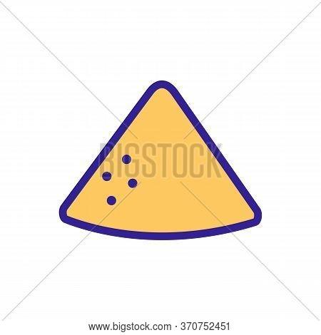 Vanilla Heap Icon Vector. Vanilla Heap Sign. Isolated Color Symbol Illustration