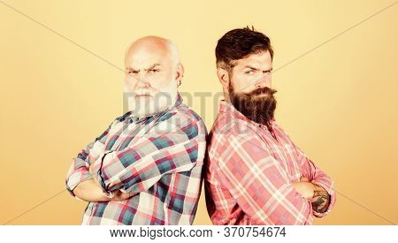 Family Values. Male Beard Care. Checkered Fashion. Father And Son Family. Generational Conflict. You