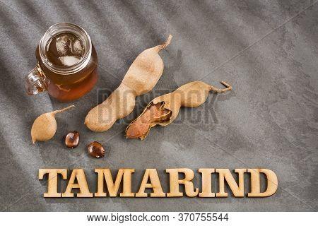 Delicious Sweet Drink Tamarind Juice - Tamarindus Indica