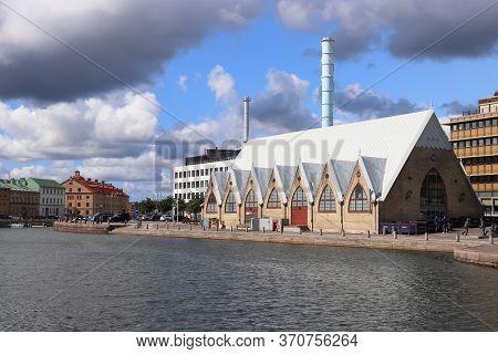 Gothenburg, Sweden - August 26, 2018: City View Of Gothenburg, Sweden. Gothenburg Is The 2nd Largest