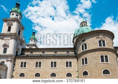 Salzburg Cathedral is the seventeenth-century Baroque cathedral of the Roman Catholic Archdiocese