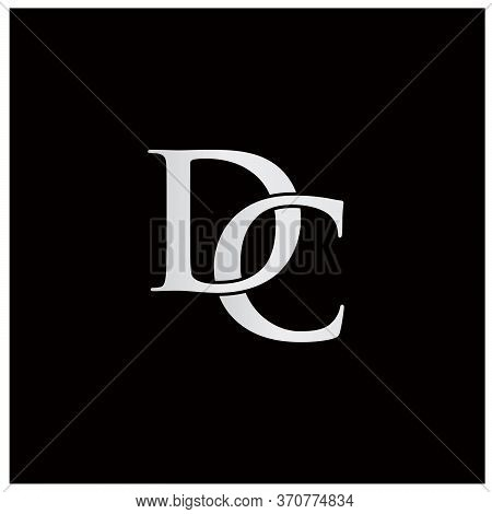 Classy Initials With Letter D And Letter C Logo
